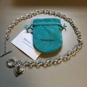 Tiffany & Co. necklace with bag